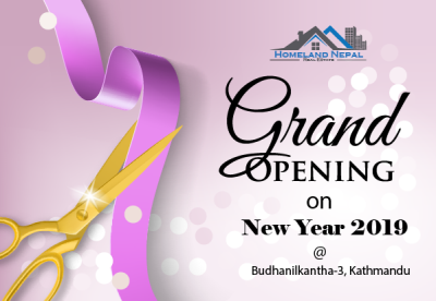 GRAND OPENING ON NEW YEAR 2019